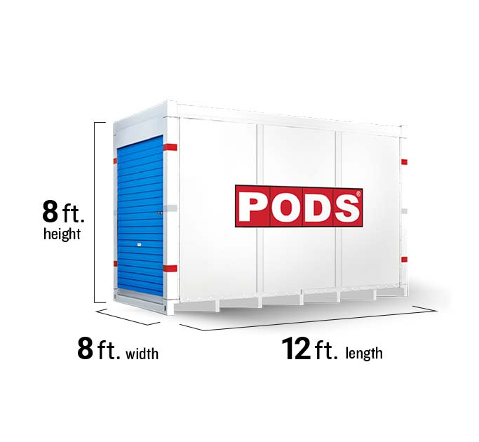 Moving Container & Storage Unit Sizes: Dimensions & Capacity