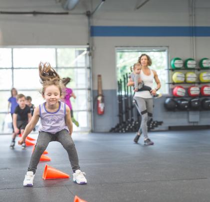 Kids Fitness Camp Storage