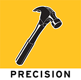 precision general commercial contractors logo