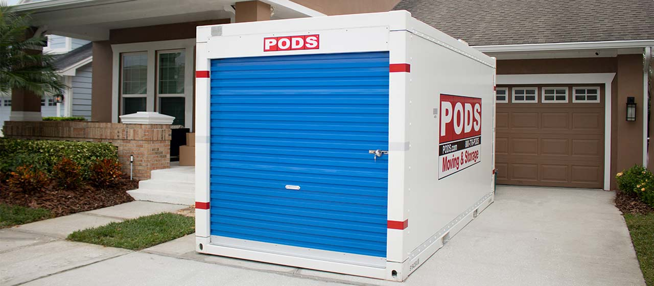 Pods Moving And Storage >> Moving Container Storage Unit Sizes Dimensions Capacity