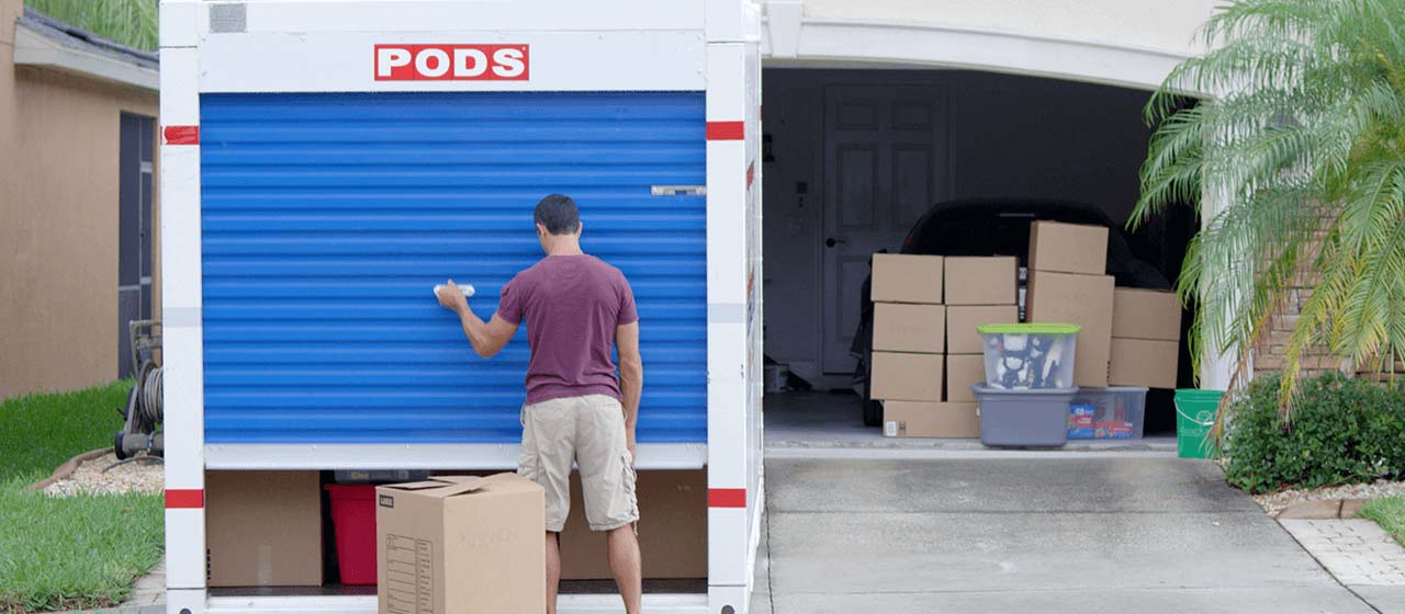 Portable Storage Containers | Rent On-Site Self-Storage ...