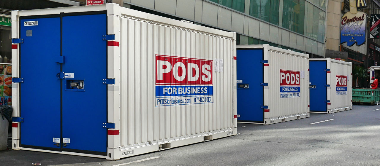 Commercial Storage Containers, Storage Units: PODS