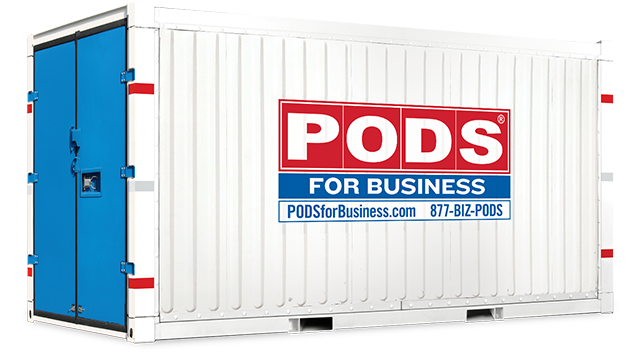 Commercial Storage Units | Shipping Container Storage Units | PODS