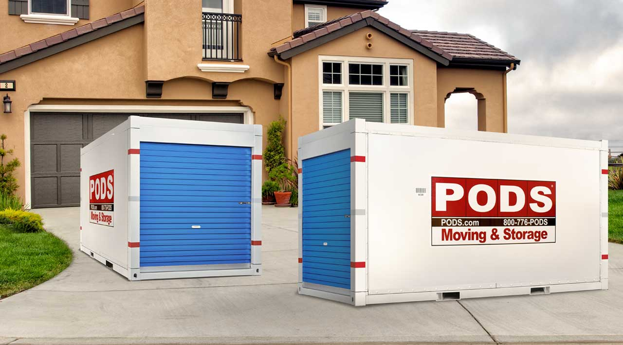 Moving Container & Storage Unit Sizes: Dimensions & Capacity | PODS
