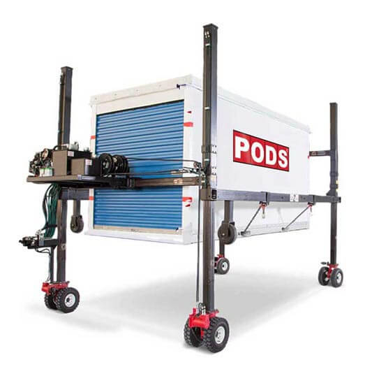 PODS container delivery system PODZILLA