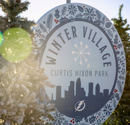 downtown tampa winter village pop up storage