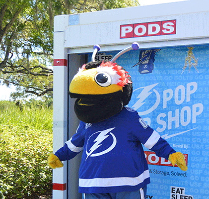 Tampa Bay Lightning Pop-up Shops