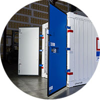 Commercial Container External Double Swing Doors