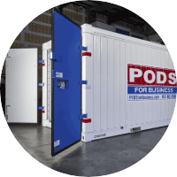 PODS for Business Storage Container