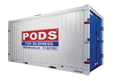 pods for business commercial container storage