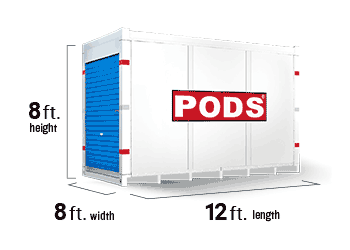 12 Foot moving and storage container