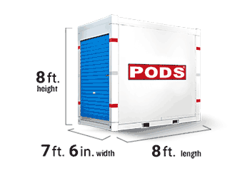 7 Foot  PODS storage container