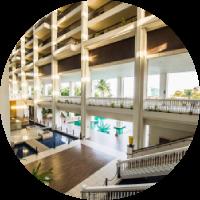 hotel indoor renovation