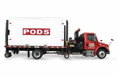 PODS for Business storage delivery