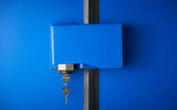 Heavy Duty Security Box for standard padlock