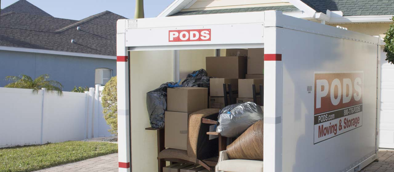 PODS moving and storage
