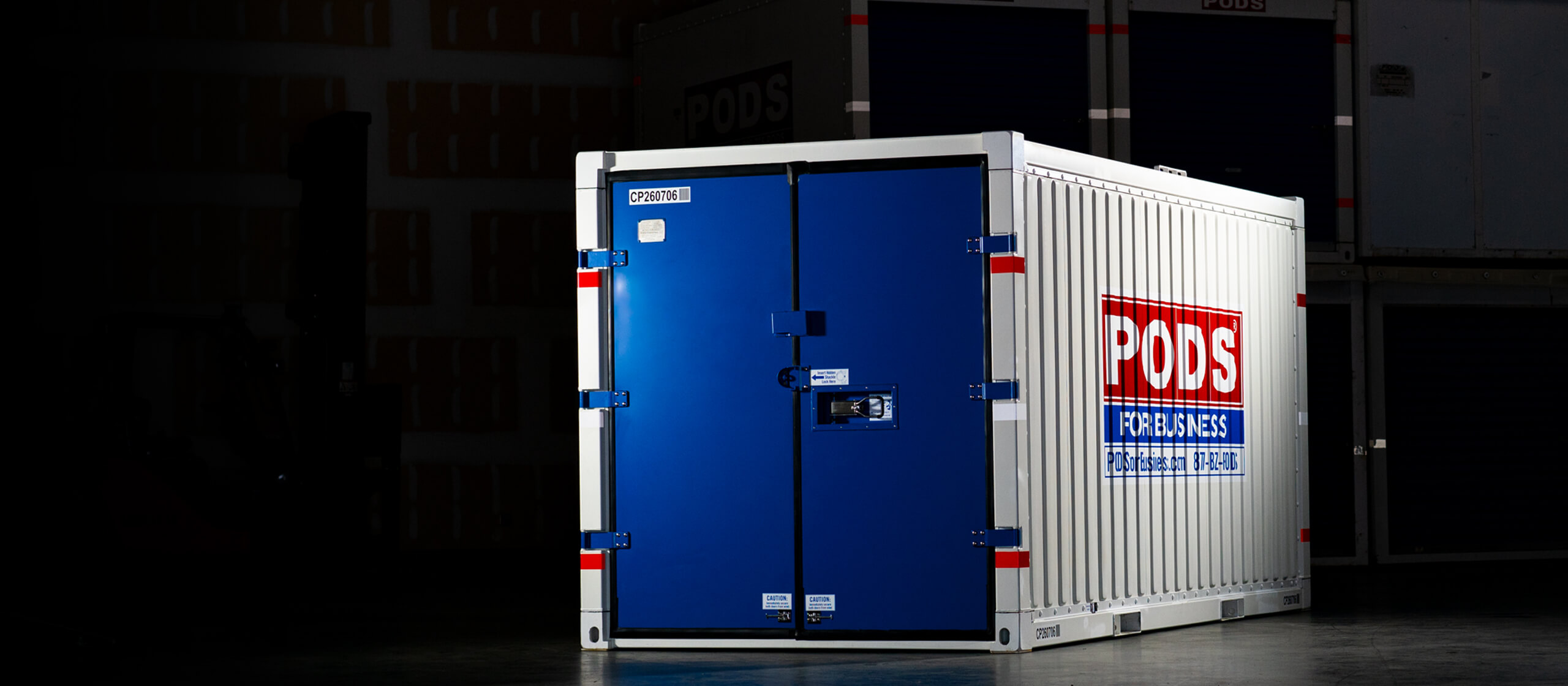 Secure Commercial Container