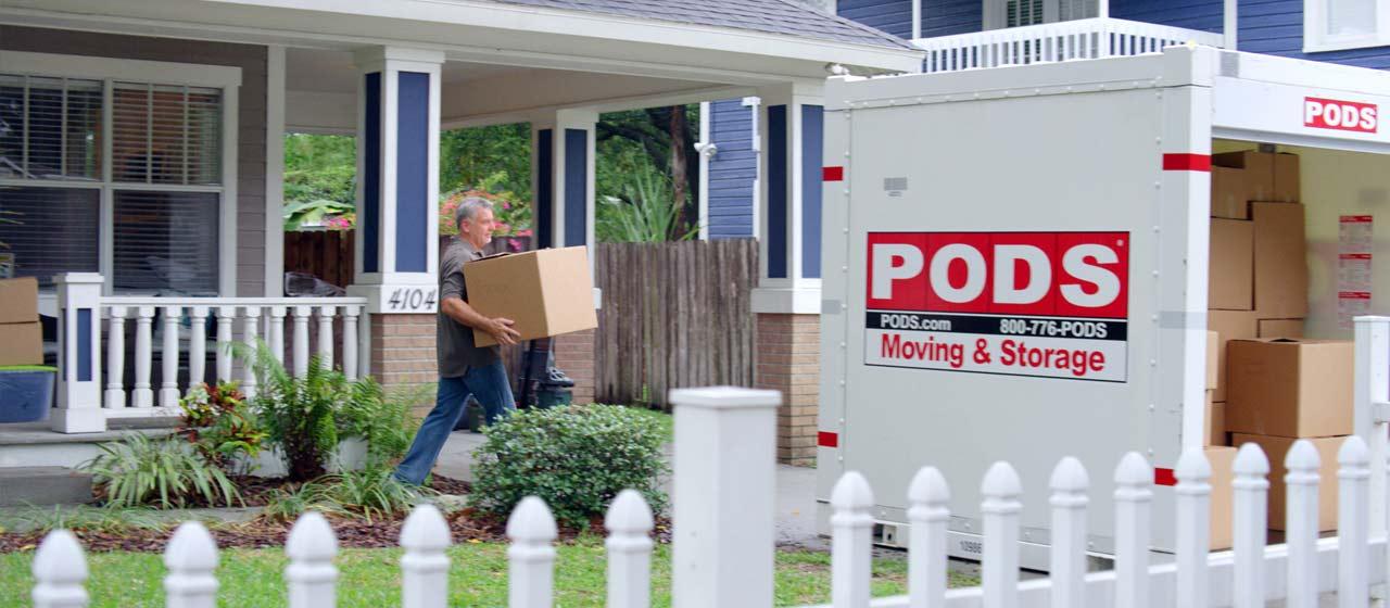 PODS moving company