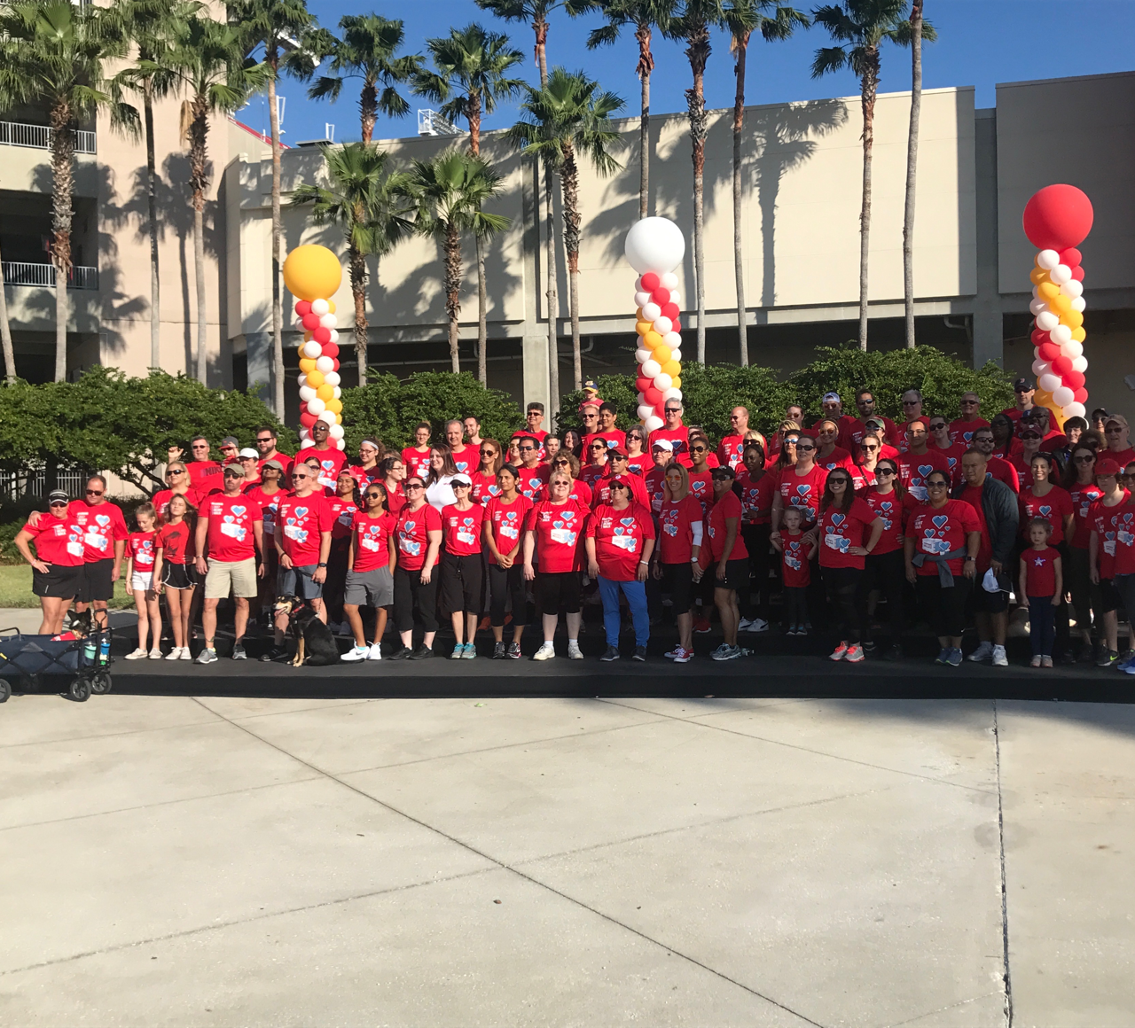 Heart Walk with American Heart Association