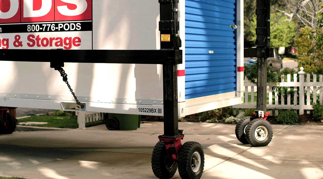 PODZILLA storage container moving help