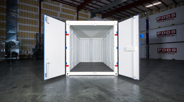 Commercial Shipping Container Storage Unit