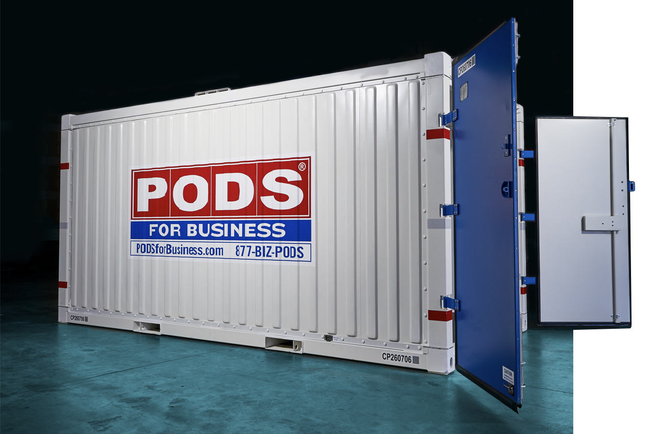 PODS Commercial Container open doors