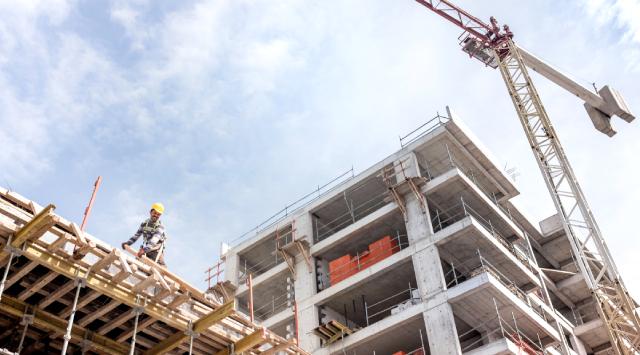 Lend lease apartment construction project