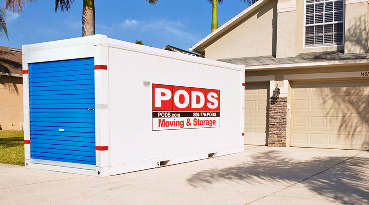 PODS onsite portable self storage