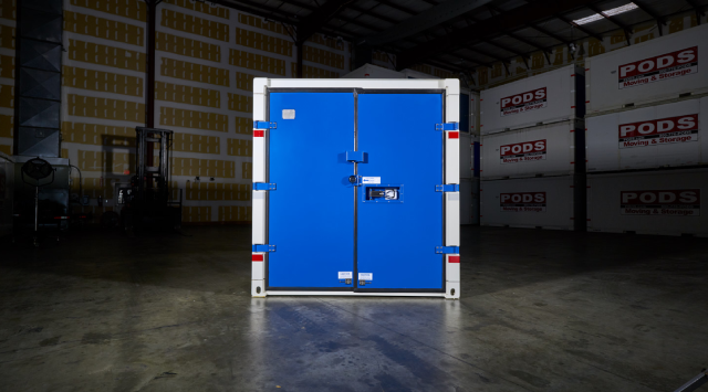 Secure Commercial Shipping Container
