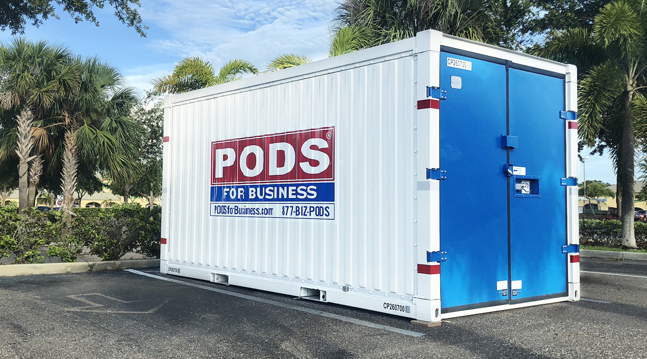 PODS for Business commercial container