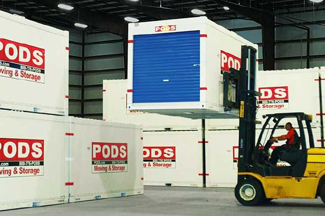 PODS Secure storage facilities