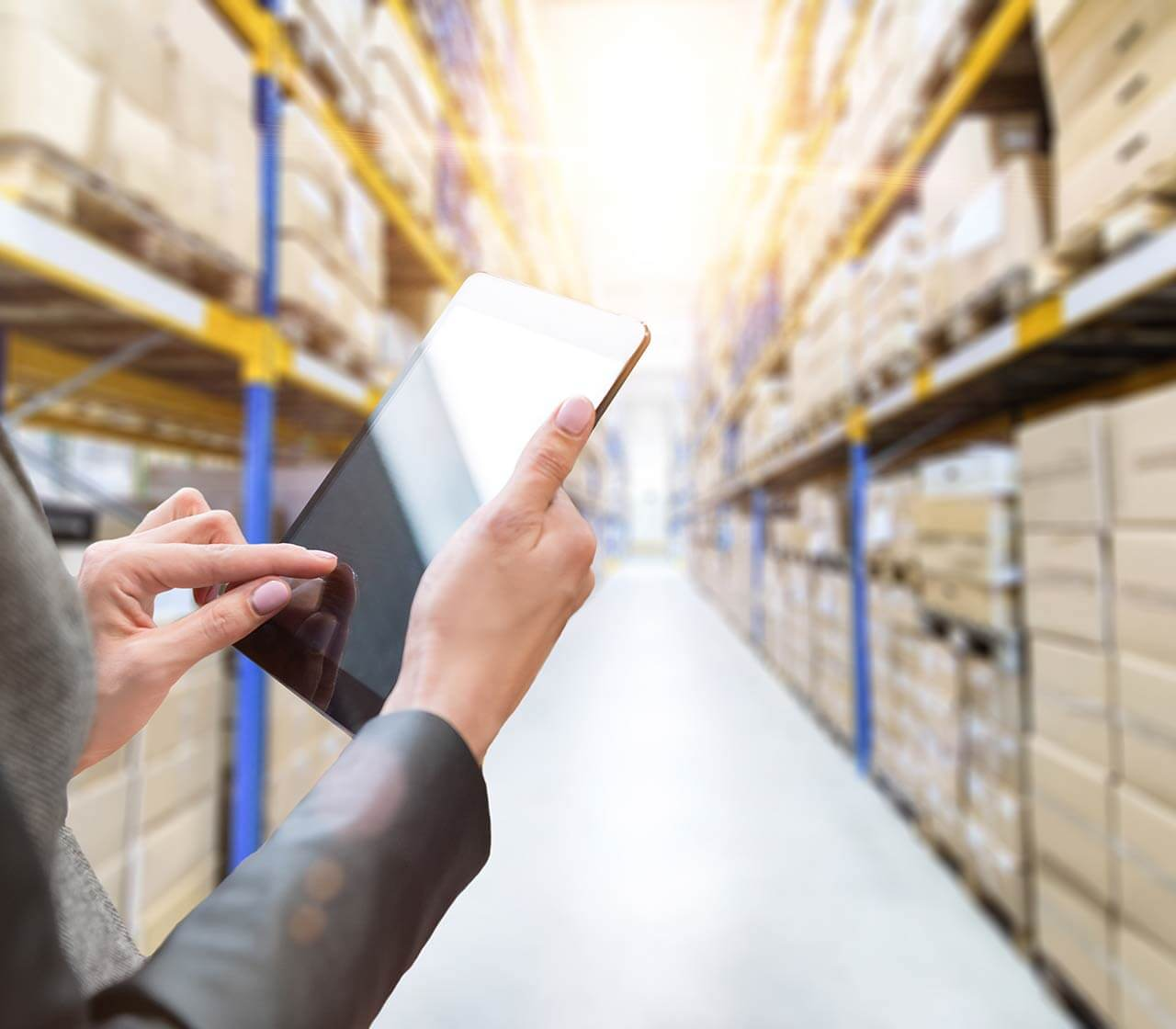 Business Solutions organizing warehouse