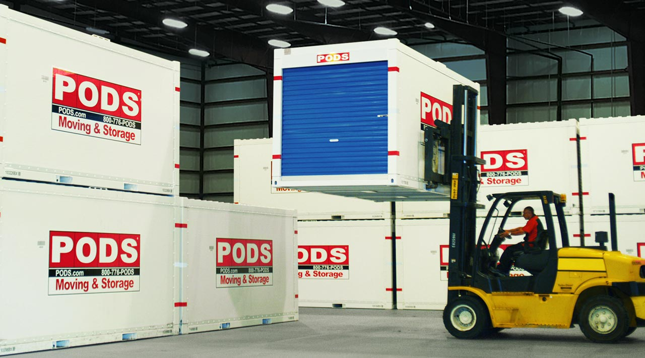 Secure Storage at a PODS Facility