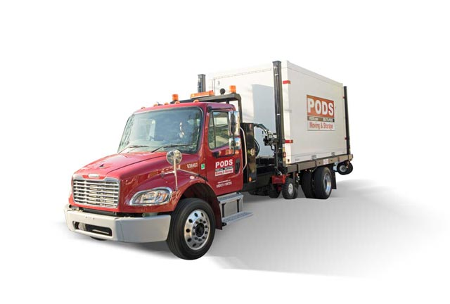 PODS large moving and storage truck