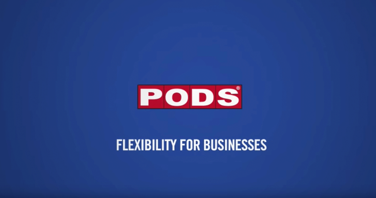 PODS for Business Storage and Moving
